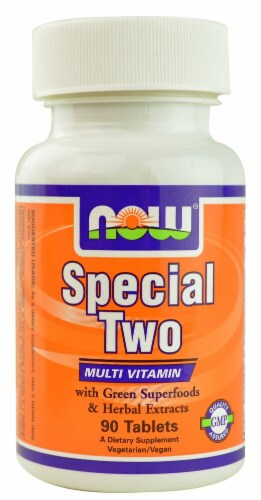 NOW Foods  Special Two Multi Vitamin Perspective: front