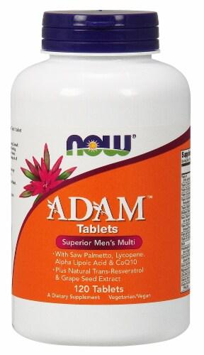 Now Adam Superior Men's Multivitamin Perspective: front