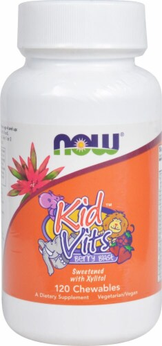 NOW Foods  Kid Vits   Berry Blast Perspective: front