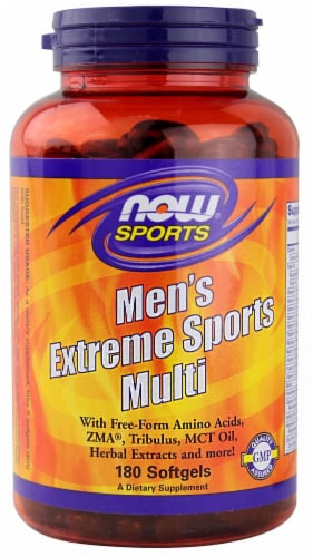 NOW Foods  Sports Men's Extreme Multi Perspective: front