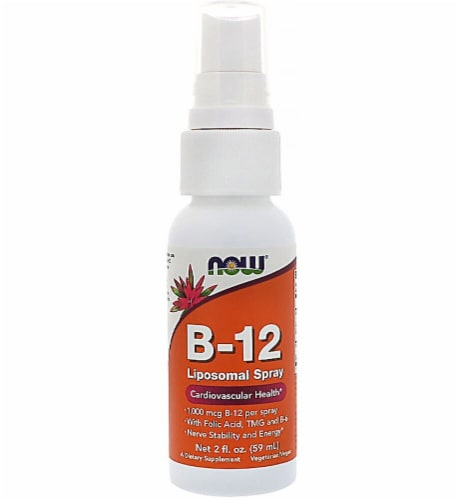 NOW Foods B12 Liposomal Spray Perspective: front