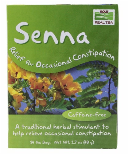 NOW   Real Tea Senna Perspective: front
