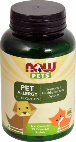 NOW  Pets Pet Allergy For Dogs and Cats Perspective: front