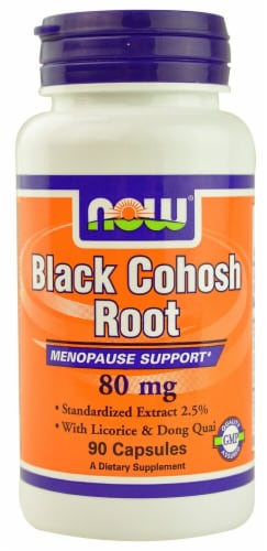 NOW Foods  Black Cohosh Root Perspective: front