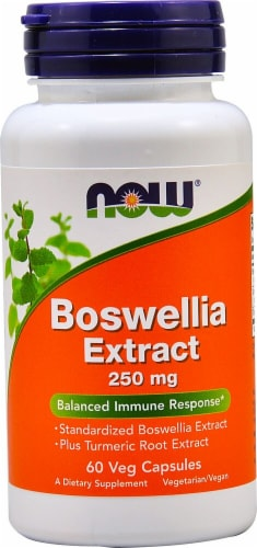 NOW Foods  Boswellia Extract Perspective: front