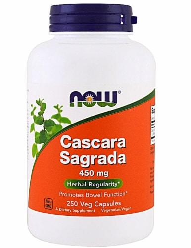 NOW Foods  Cascara Sagrada Perspective: front