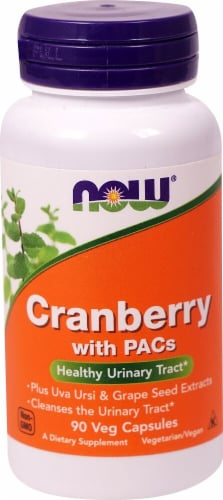 NOW Foods  Cranberry Extract Standardized Perspective: front