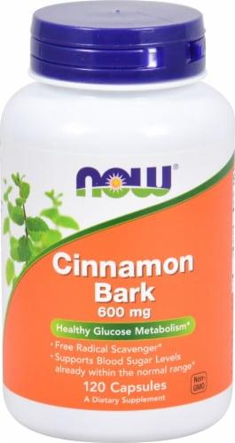 NOW Foods  Cinnamon Bark Perspective: front