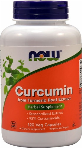 NOW  Curcumin Perspective: front