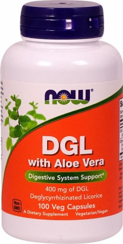 NOW   DGL with Aloe Vera Perspective: front