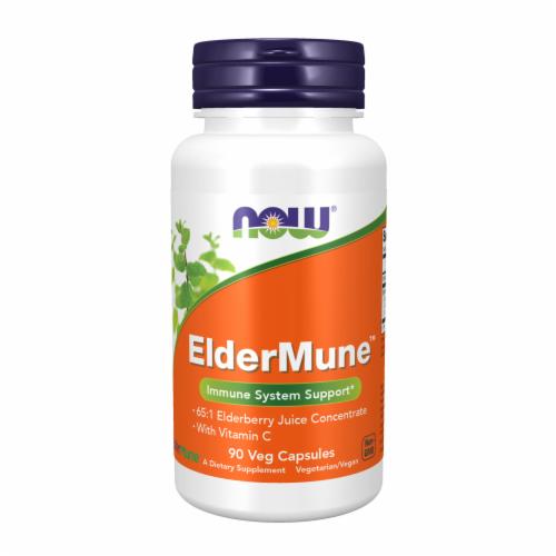 NOW Foods Eldermune Vitamin C Capsules 90 Count Perspective: front