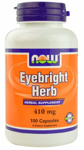 NOW Foods  Eyebright Herb Perspective: front
