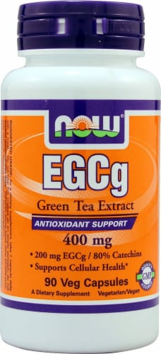 NOW Foods  EGCg Green Tea Extract Perspective: front