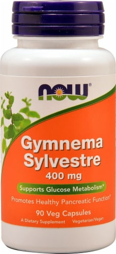 NOW Foods  Gymnema Sylvestre Perspective: front