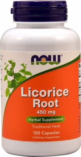 NOW   Licorice Root Perspective: front