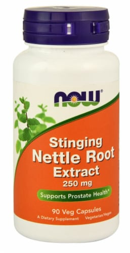 NOW  Stinging Nettle Root Extract Perspective: front