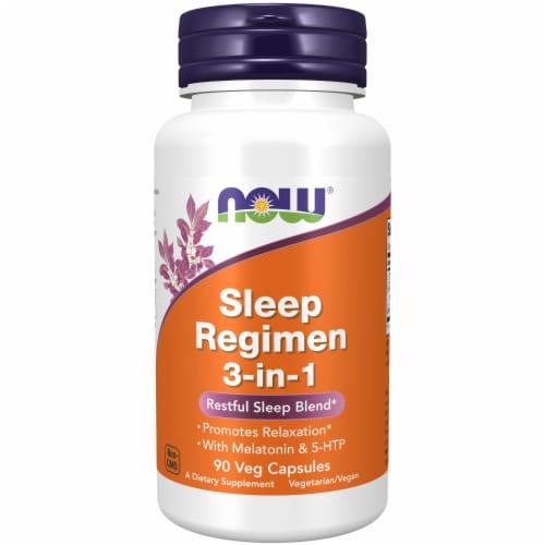 NOW Sleep Regime 3 in 1 Restful Sleep Blend Perspective: front