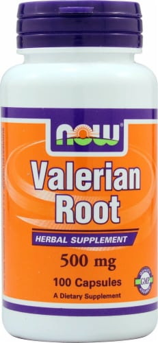 NOW Foods  Valerian Root Perspective: front