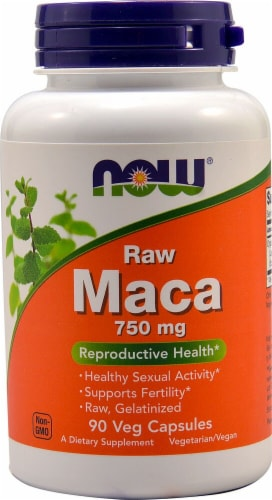 NOW  Raw Maca Perspective: front