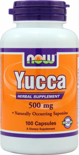 NOW Foods  Yucca Perspective: front