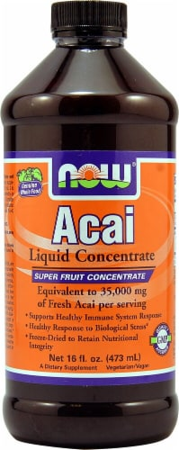 NOW Foods  Acai Liquid Concentrate Perspective: front