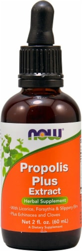NOW  Propolis Plus Extract Perspective: front