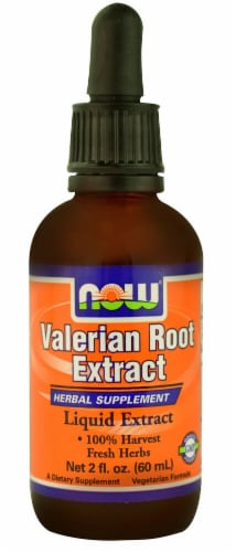 NOW Foods  Valerian Root Extract Perspective: front