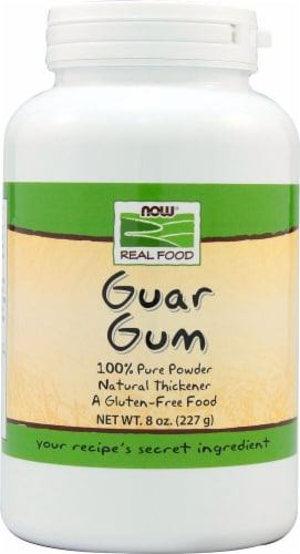 NOW Foods  Real Food Guar Gum Perspective: front