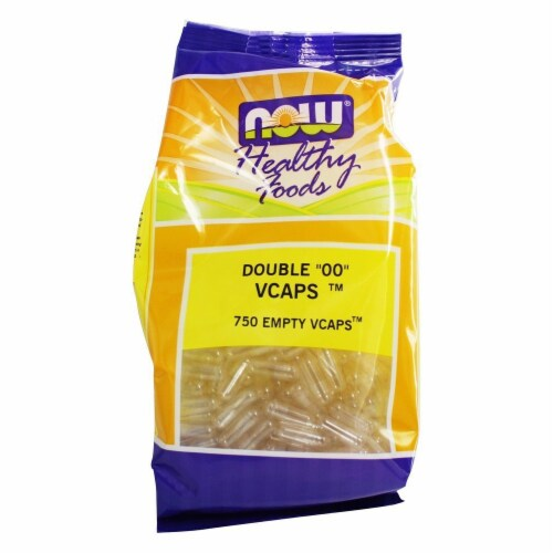 "NOW Foods Double ""00"" Vegcapsules Perspective: front"