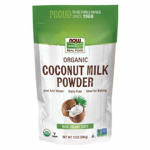 NOW Foods Organic Coconut Milk Powder Perspective: front