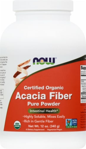 NOW Organic Acacia Fiber Perspective: front