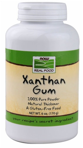 NOW   Real Food Xanthan Gum Perspective: front
