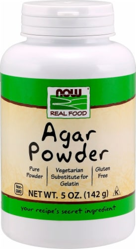NOW   Agar Powder Perspective: front