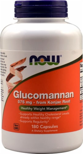 NOW Foods  Glucomannan Perspective: front