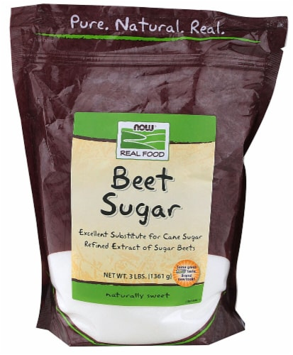 NOW Foods  Real Food™ Beet Sugar Perspective: front
