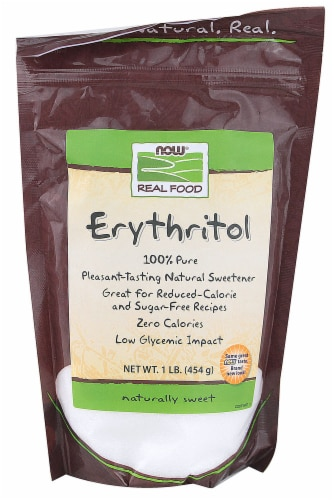 NOW Foods  Real Food Erythritol Perspective: front