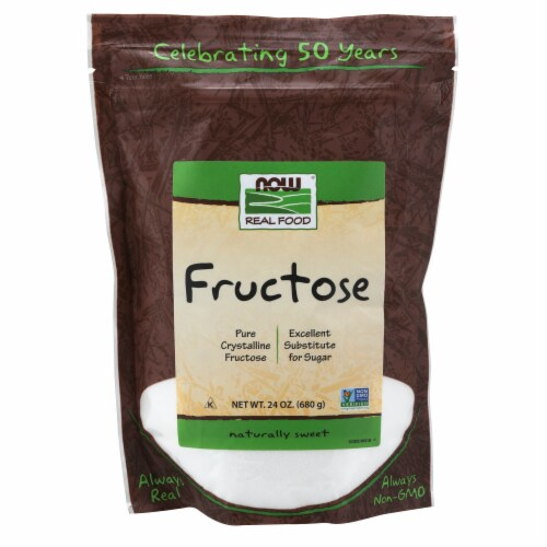 NOW Foods Fructose Sugar Substitute Perspective: front