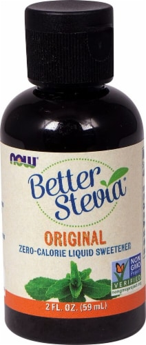 NOW Foods  BetterStevia® Liquid Sweetener   Original Perspective: front