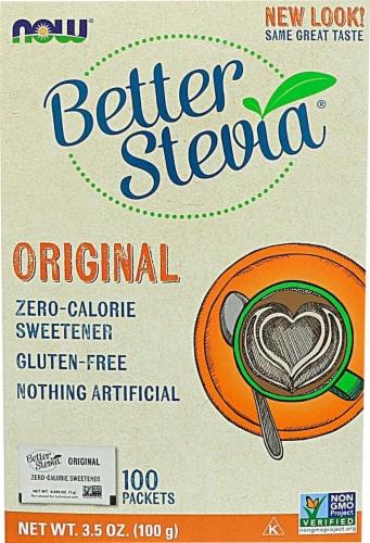 NOW Foods  BetterStevia™ Zero Calorie Sweetener   Original Perspective: front