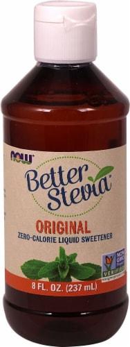 NOW Foods  BetterStevia™ Liquid Sweetener   Original Perspective: front