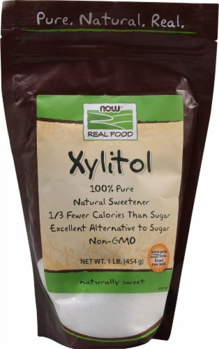 NOW Foods  Real Food Xylitol Perspective: front