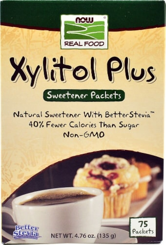 NOW Foods  Real Foods Xylitol Plus Perspective: front