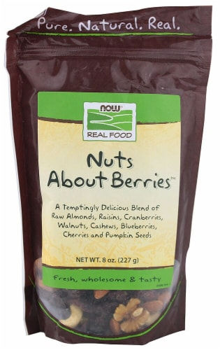 NOW   Real Food™ Nuts About Berries™ Perspective: front