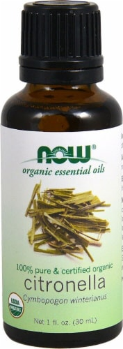 NOW Foods  Organic Essential Oils Citronella Perspective: front