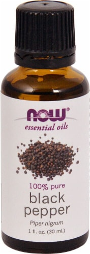 NOW Foods  Essential Oils Black Pepper Perspective: front