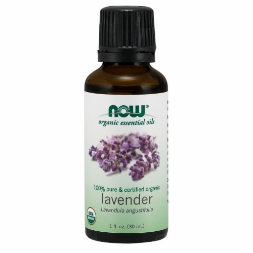 NOW Foods  Organic Essential Oils Lavender Perspective: front