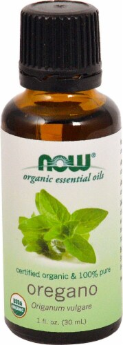 NOW Foods Oregano Organic Essential Oils Perspective: front