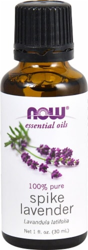 NOW Foods  Essential Oils Spike Lavender Oil Perspective: front