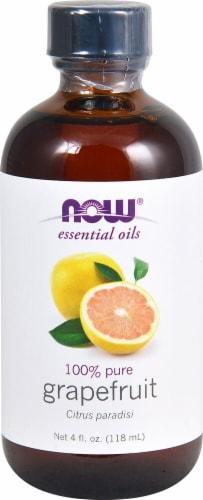 NOW Foods  Essential Oils Grapefruit Oil Perspective: front