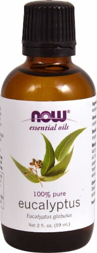 NOW Foods  Essential Oils Eucalyptus Perspective: front